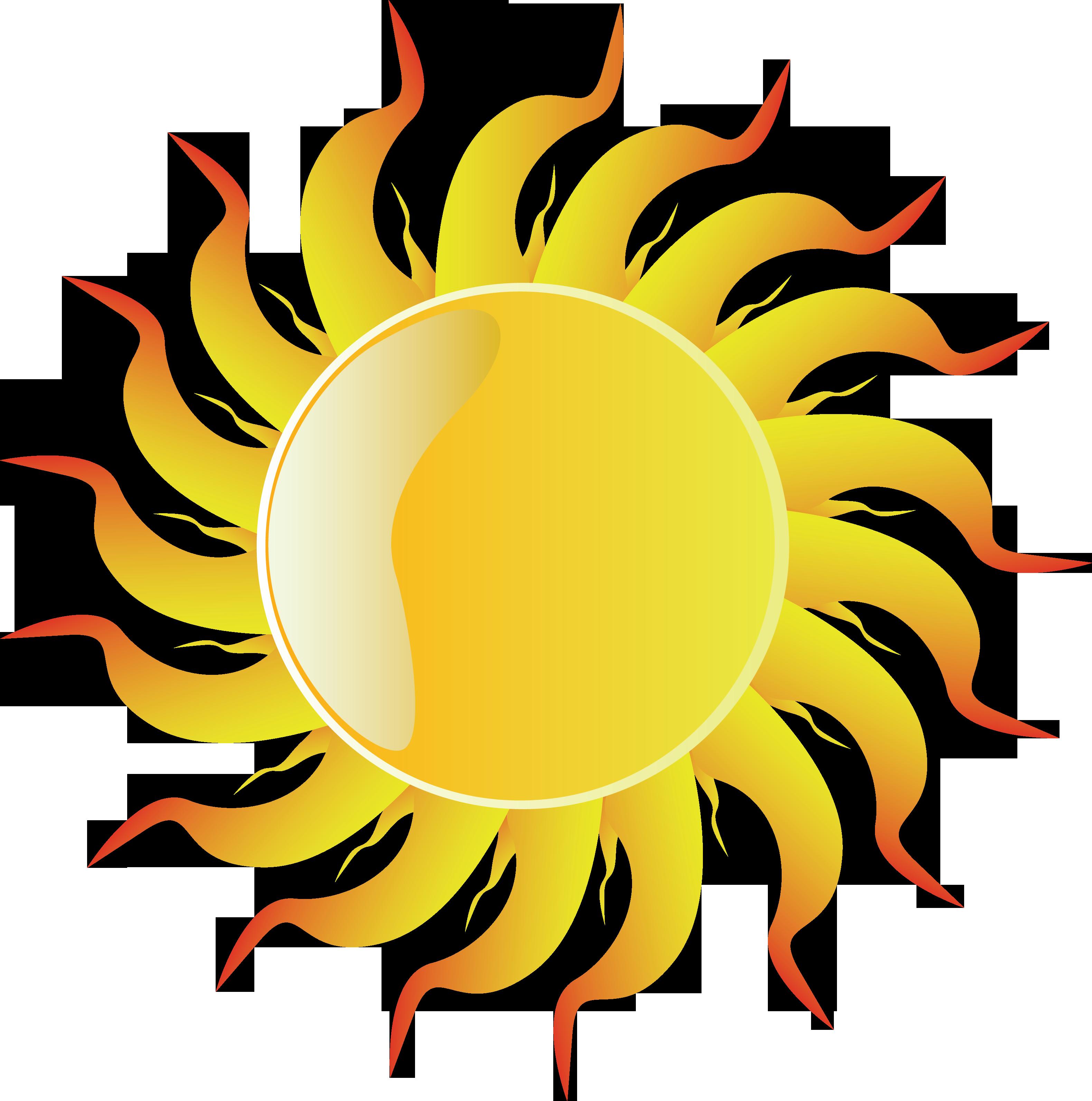 Картинки солнца с лучами